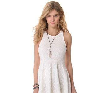 MinkPink Lace Skater Dress